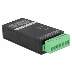 Konverter RS-232 > RS-422/485, RS-232 toide, 15 KV serial ESD kaitse, RS-422/485 klemmühendus, Din liistule