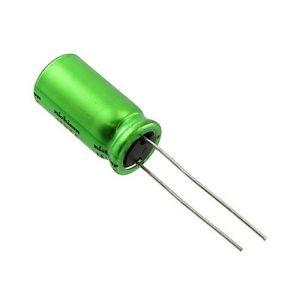Elektrolüütkondensaator bipolaarne 2,2uF 50V 5x11mm Nichicon ES seeria