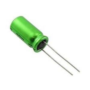 Elektrolüütkondensaator bipolaarne 3.3uF 50V 5x11mm Nichicon ES seeria