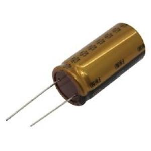 Elektrolüüt kondensaator 0.22uF 100V 85°C 5x11mm, Nichicon FW Audio seeria