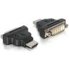 Üleminek HDMI (M) - DVI (F), LEDiga