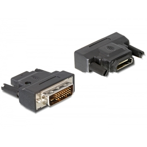 Üleminek DVI-D (M) - HDMI (F) LEDiga