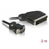 Üleminek Scart (M) - VGA (M)
