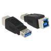 Üleminek USB 3.0 A (F) - B (F), must