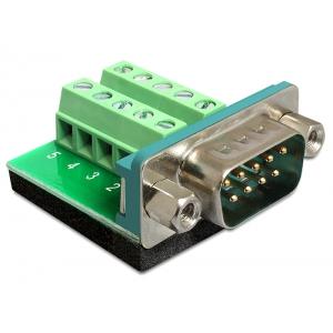 Üleminek Sub-D 9pin (M) - Terminal Block 10pin
