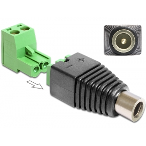 DC 5.5 x 2.1mm (F) - Terminal Block 2pin