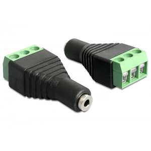 Stereo 2.5mm (F) - Terminal Block 3pin