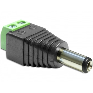 DC 5.5 x 2.5mm (M) - Terminal Block 2pin,
