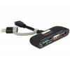 Kaardilugeja USB Micro-B  -  SD / SDHC / microSD, USB 2.0, HDMI