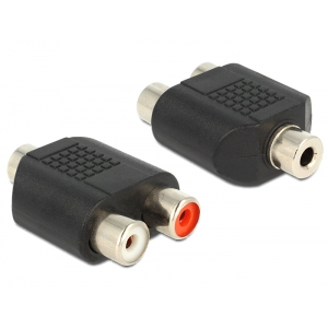 Üleminek 3.5mm (F) - 2xRCA (F)