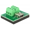 Mini USB (F) - Terminal Block 6pin