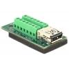 USB 3.0 / 3.1 PD A (M) - Terminal Block 14pin