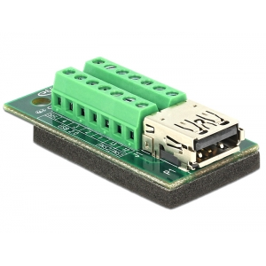 USB 3.0 / 3.1 PD A (M) - Terminal Block 14pin