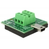 Mini USB (M) - Terminal Block 6pin