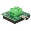 Mini USB (M) - Terminal Block 6pin