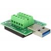 USB 3.0 A (M) - Terminal Block 10pin