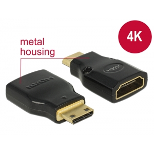 Adapter HDMI mini-C (M) - HDMI (F) 4K@60Hz