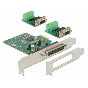 Laienduskaart: PCIe x1, 2 x Serial RS-422/485 ESD ...