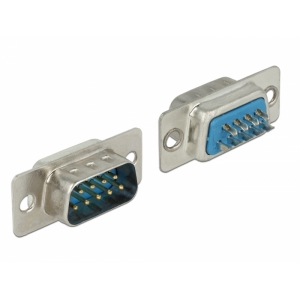 Sub-D 9pin (M) konnektor