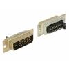 DVI 24+1 (M) konnektor