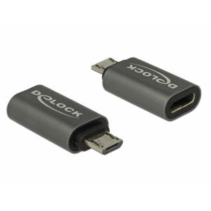 Konverter USB 2.0 Micro B (M) - USB-C 2.0 (F)