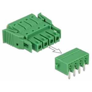 Terminal block PCB 4 pin 3.81mm, horisontaalne, -40°C-105°C