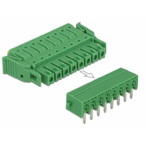 Terminal block PCB 8 pin 3.81mm, horisontaalne, -40°C-105°C