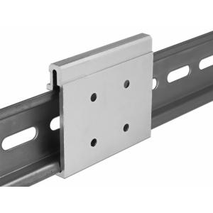 Kinnitus DIN-latile, 48.1x54.0x9.2mm, alumiiniumist