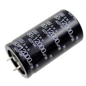 Elektrolüüt kondensaator 12000uF 80V 85°C 35X63mm, snap in