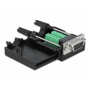 Üleminek Sub-D9 10pin (F) - Terminal Block 10pin +kest