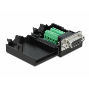Konverter USB-C (M) - HDMI (F) 2160p, USB 3.0 + USB-C laadimine