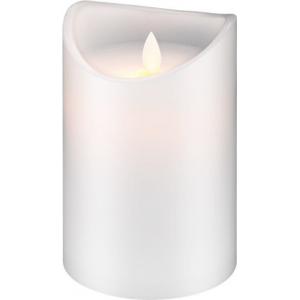 LED küünal, 10 x 15cm, valge