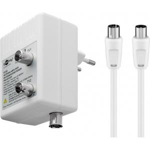 Antenni võimendi kahele seadmele ((DVB-T / DVB-T2...