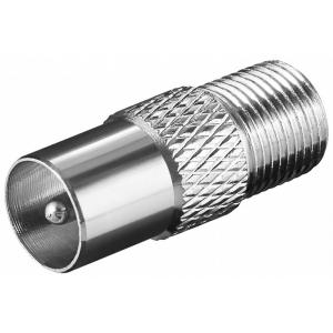Üleminek F-pesa - antennipistik, CU