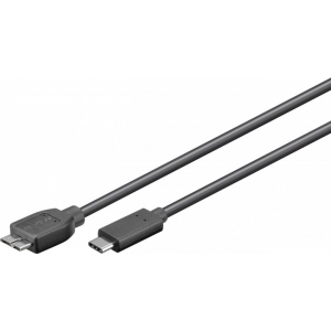 USB 3.0 micro B - USB-C 1.0m, must