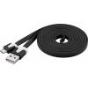 USB 2.0 kaabel A - Micro B 2.0m, PVC, must