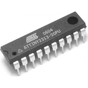 8bit AVR Microcontroller, 20MHz, 128 B, 2 kB Flash
