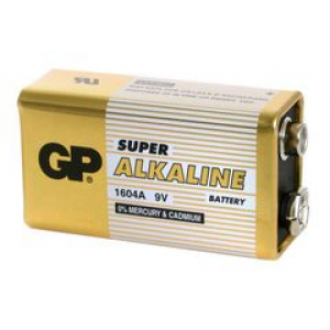 Patarei 9V 6LF22 Alkaline GP1604A