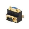 Adapter VGA (M) - (F), 90° nurgaga allapoole