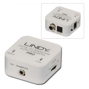 Konverter TosLink/ coaxial SPDIF - 3.5mm stereo