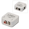 Konverter TosLink/ Digital Coaxial > 2xRCA (analoog audio) Sampling Frequency: 32-192KHz