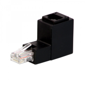 Right Angled RJ45 UTP Adapter. Up