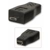 Üleminek USB 2.0 Mini B (F) - Micro B (M)