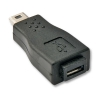 Üleminek USB 2.0 Mini B (M) - Micro B (F)