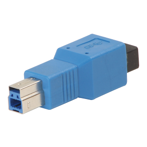 USB 3.0 Adapter Type A Female to Type B Male