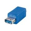 Üleminek USB 3.0 A (F) - Micro B (M), sinine
