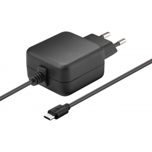 Micro USB laadija 5V 2.5A Raspberry Pi 1/2/3-le, kaabli pikkus 1m, must