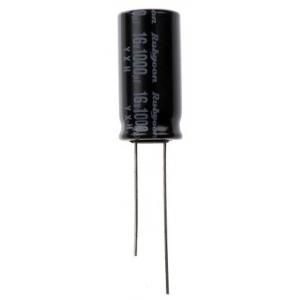 Elektrolüütkondensaator 1000uF 16V 10x20mm Rubycon YXH seeria 150
