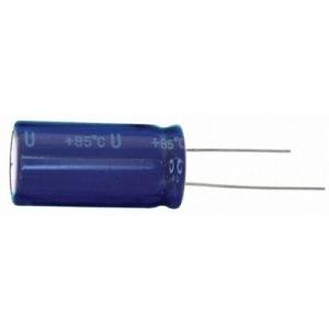 Elektrolüüt kondensaator bipolaarne 47uF 50V 105°C 2000h 10x12.5mm