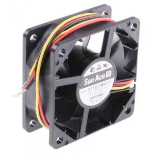 Ventilaator 12 V dc, 60 x 60 x 25 mm, 24m³/h, 840mW